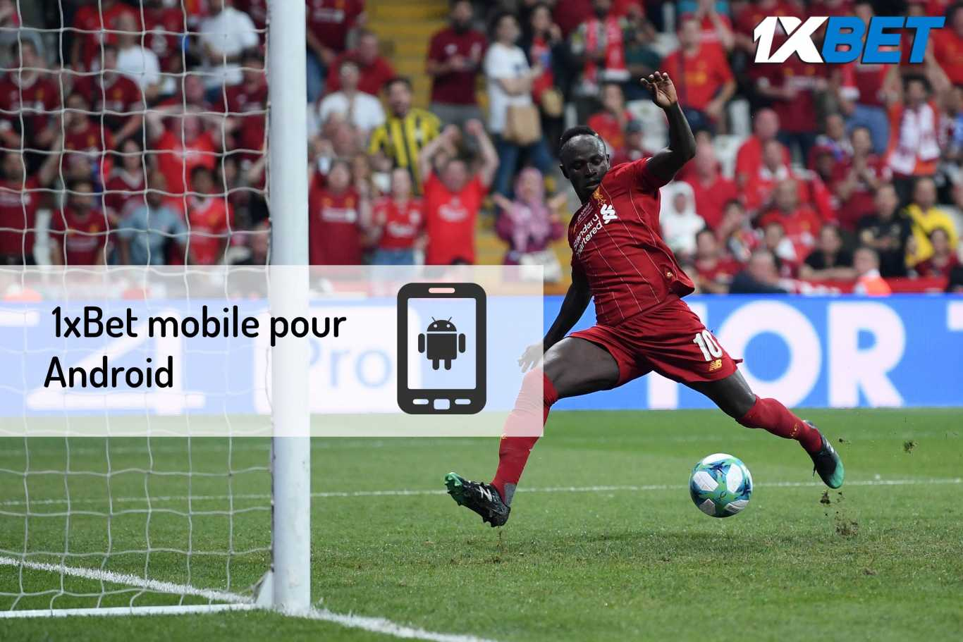 1xBet mobile pour Android