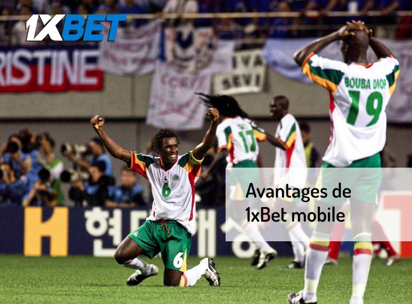 telecharger 1xBet mobile Senegal