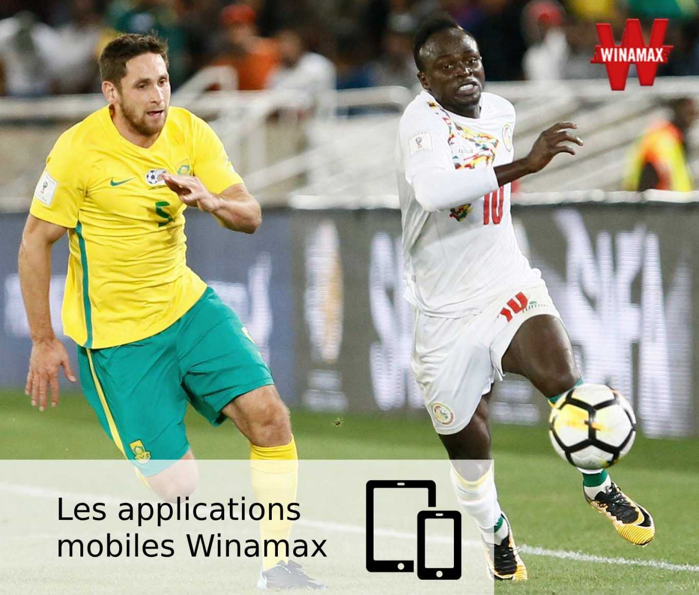 Les applications mobiles Winamax