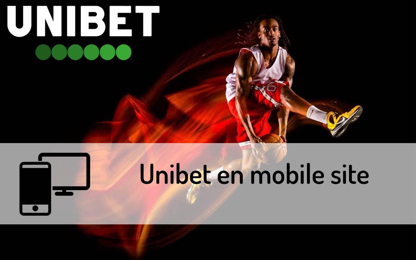 Unibet en mobile site