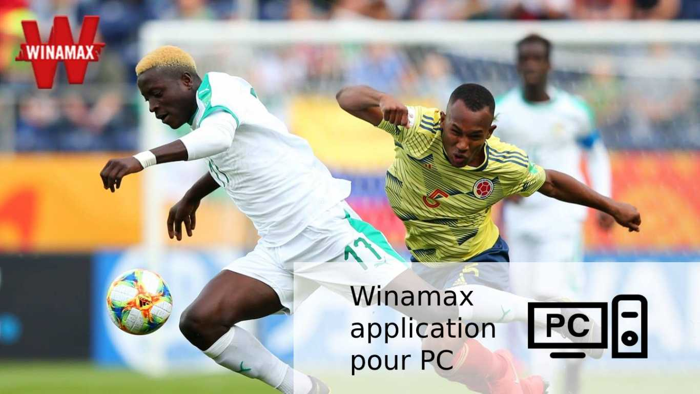 Winamax application pour PC