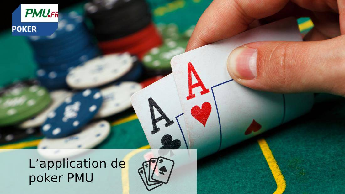 L'application de poker PMU